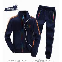Buy cheap Adidas long suit track suit sportswear men track suits from wholesalers
