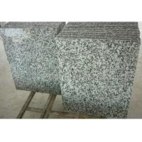 Buy cheap Solid Surface Granite Stone Floor Tiles , Gray Natural Granite Stone Slabs from wholesalers