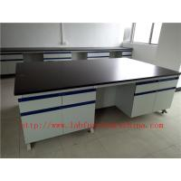 Buy cheap Anti Corrosion /  Acid / Alkali School Lab Workstation Furniture Fitting For College  / University  Chemistry Laboratory from wholesalers