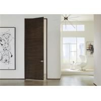 Buy cheap Laminate Coated Mdf Wooden Composite Front Doors Flush Interior PVC Swing Open Style from wholesalers