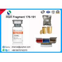 China Fat Burning and Bodybuilding Growth Hormone HGH Fragment 176-191 CAS 158861-67-7 With 5mg/Vial 10mg/vials on sale