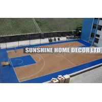 Buy cheap Futsal Flooring System, Removable Recycled Polypropylene Modular Sports Flooring For Futsal from wholesalers