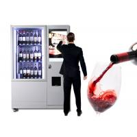 Buy cheap Luxury Elevator Wine Vending Machine With Large Advertising Screen Remote Control System from wholesalers