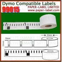 Buy cheap 70mm×54m 320piece/roll Compatible dymo labels (99015) from wholesalers