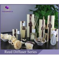 Buy cheap Luxury Transparent 80ml Apple Essential Oil Reed Diffuser For Living Room from wholesalers