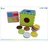 Buy cheap Colorful EVA Foam Puzzle Mat With Round Accessories For Children from wholesalers