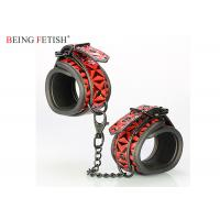 Buy cheap Beginner's Bondage Fantasy Leather Cuffs Perfect for Couple Play from wholesalers