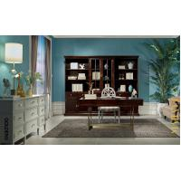 Buy cheap Leisure American style Study room furniture of Bookcase set with Cabinets and Office desk table from wholesalers