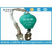 Buy cheap 30M Falling Protector Safety Catcher Wire Rope Retractable Fall Arrester from wholesalers
