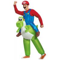 Buy cheap Super Mario Inflatable Costumes , Adult Fat Inflatable Yoshi Costume from wholesalers