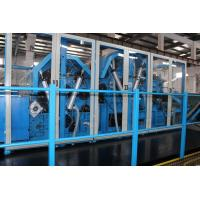 Buy cheap Nonwoven Polyester Wadding Wool Carding Machine , Fiber Processing Equipment Double Doffer from wholesalers