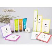 Buy cheap 5 Star Hotel Balfour Acrylic Custom Hotel Amenities With Paper Bag from wholesalers