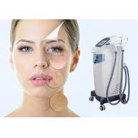Buy cheap 1064nm 532nm IPL Laser Hair Removal Machine For Dark Skin / Upper Lip / Bikini Area from wholesalers