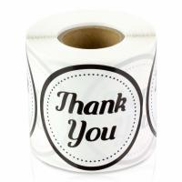 Buy cheap 2 Round Non Adhesive Stickers Wedding / Birthday Use 300 Labels Per Roll from wholesalers