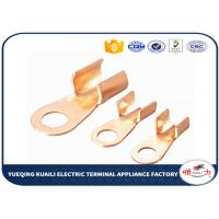 Buy cheap Tin Plated Copper Cable Lugs OT Series / Electrical Terminal Lugs from wholesalers