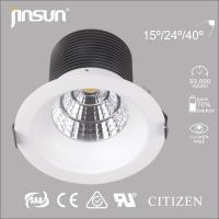 Buy cheap 20W/30W with CE ROHS certification COB LED Downlight SAA approval with CITIZEN COB from wholesalers