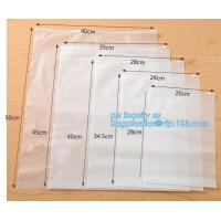 Buy cheap poly zip bags leakproof plastic slider zipper bags for packaging, slider ziplock printed pvc zipper bags, quad sealed sl from wholesalers