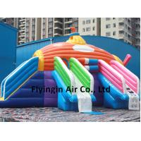 Buy cheap Giant Submarine Theme Inflatable Water Slide with Blower for Sale product