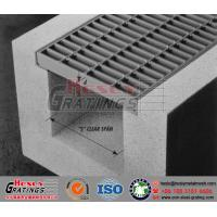 Buy cheap Steel Trench Grating  Drainage Steel Grating cover from wholesalers