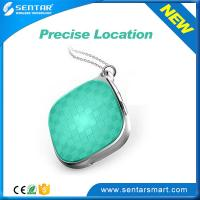 Buy cheap Delicate appearance pendant Green GPS + WIFI + LBS location mini tracker from wholesalers