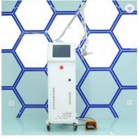 Buy cheap RF metal tube 40W CO2 fractional surgery laser device for female vaginal tightening from wholesalers