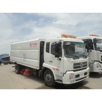 Buy cheap HOT SALE! dongfeng brand 4*2 LHD big road sweeping vehicle for sale, factory sale best price dongfeng street sweeper from wholesalers