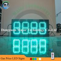 Buy cheap Remote Control Outdoor Gas Station LED Price Digital Sign with Light Box from wholesalers