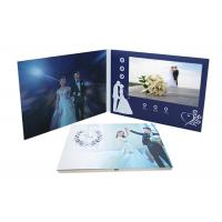 Buy cheap 800*480P Screen LCD Invitation Card Digital Video Folder Book Glossy Finished from wholesalers