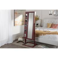 Buy cheap Full Length Mirror With Jewelry Storage With Lock Up / Photo Holders from wholesalers