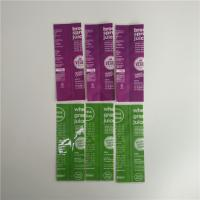 Buy cheap Full Color Printing Shrink Sleeve Labels Food Grade Plastic Material For Bottle from wholesalers