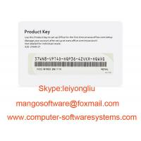 Buy cheap FPP Microsoft Office Key Code 2016 Home And Business COA License Sticker from wholesalers