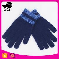 Buy cheap 12*20.5cm 95%Acrylic 5%Spandex 53g New Design Acrylic Custom Jacquard For Man Motorcycle Work Winter Knitting Gloves from wholesalers