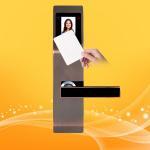 Buy cheap Zinc Alloy Hotel Swipe Card Door Locks , Electronic Card Door Lock System from wholesalers