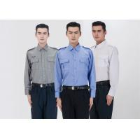 Buy cheap Classic Stereo Lapel Male Security Guard Dress Uniform With Detachable Security Badges from wholesalers