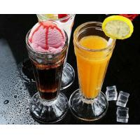 Buy cheap Tall 7.5cm Ice Cream Cup Glass Water Set Juice Lemon Mini Vase Transparent from wholesalers