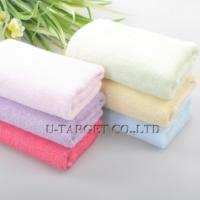 Buy cheap One piece Fast Drying Travel Beauty Gym Camping Sports 25x25cm Soft Bamboo Towel Toalha 2014 from wholesalers