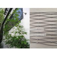 China Flexible Stainless Steel Wire Rope Mesh For Decoration Garden Climbing on sale