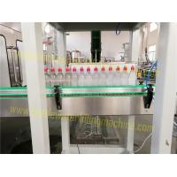 Buy cheap Juice / Water Automatic Bottle Filling Machine , Customized Drinking Water Bottling Plant product