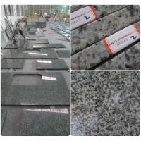 Bathroom / Kitchen Green Solid Granite Worktops 0.01% Water Absorption