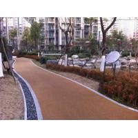 Buy cheap Noise Absorbting EPDM Rubber Jogging Track Concrete / Asphalt Foundation For Public Areas from wholesalers