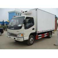 Buy cheap 4x2 3 Tons Freezer Box Truck , Refrigerated Delivery Truck With Thermo King Unit from wholesalers
