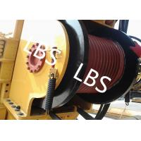Buy cheap High Efficient Offshore Winch Wire Rope Rotary Drilling Rig Winch With Lebus Drum from wholesalers