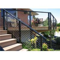 Buy cheap High quality cable wire railing or outdoor railings banister from Primahousing from wholesalers