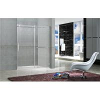 Buy cheap Clear TemperedFrameless Sliding Glass Doors / Shower Stall Enclosures CCC Certification from wholesalers