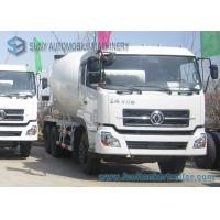 Buy cheap 6X4 Dongfeng Dalishen Transit Cement Mixer Truck 10000 Litre White Colour from wholesalers