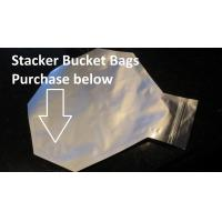 Buy cheap custom smell proof ziplock aluminium foil bag,ziplock aluminum foil bag,silver zip lock al from wholesalers
