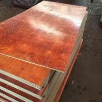 Buy cheap Waterproof Melamine Glue Red laminated Film faced plywood 2 time hot press from wholesalers