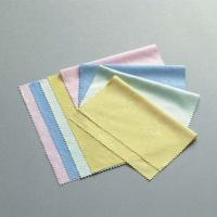 Buy cheap 35 / 41 Needle Grey Microfiber Lens / Camera / Eyeglasses Cleaning Cloth from wholesalers