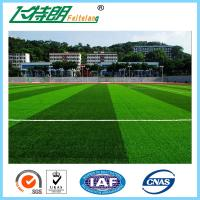 Buy cheap Outdoor Fake Monofilament Artificial Grass Football Field Turf 9800Turfs / sqm from wholesalers