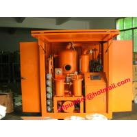 Buy cheap PLC Vacuum Transformer Oil Purifier, High Quality Oil Purification plant ,insulation Oil Recycling Machine Factory from wholesalers